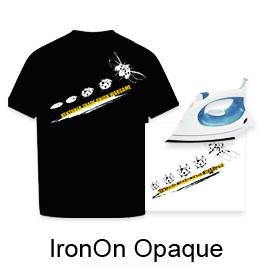 "Iron On Opaque Transfer Paper (8.5""X11"",100sheets/pack)"
