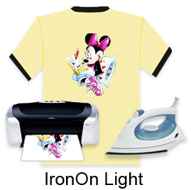 "IronOn Light Transfer Paper-11""X17"""