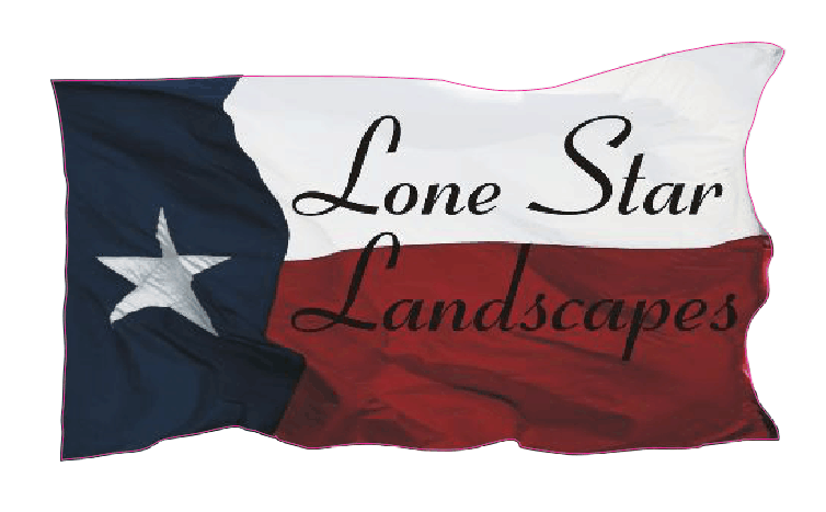 LONE STAR LANDSCAPES IRON ON STICKER
