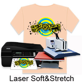 "Laser Soft&Stretch Transfer Paper-8.5""X11"""