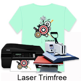 "Laser TrimFree Transfer Paper-8.5""X11"""