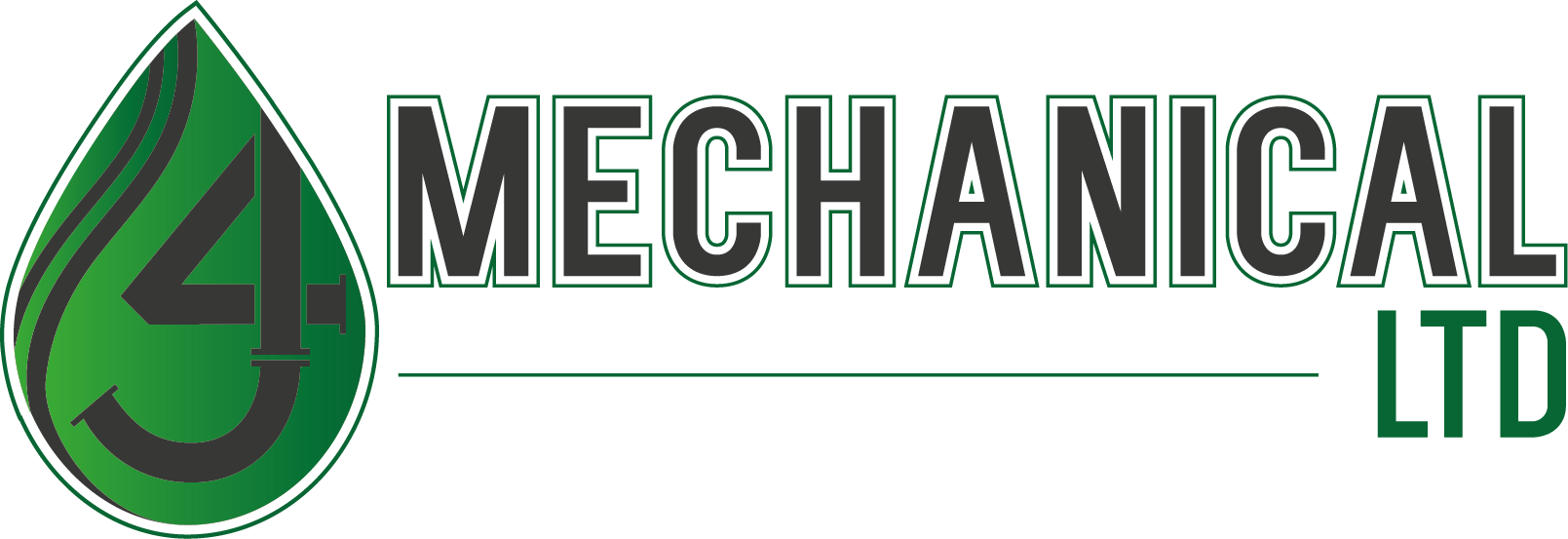 MECHANICAL LTD Logo iron on transfer