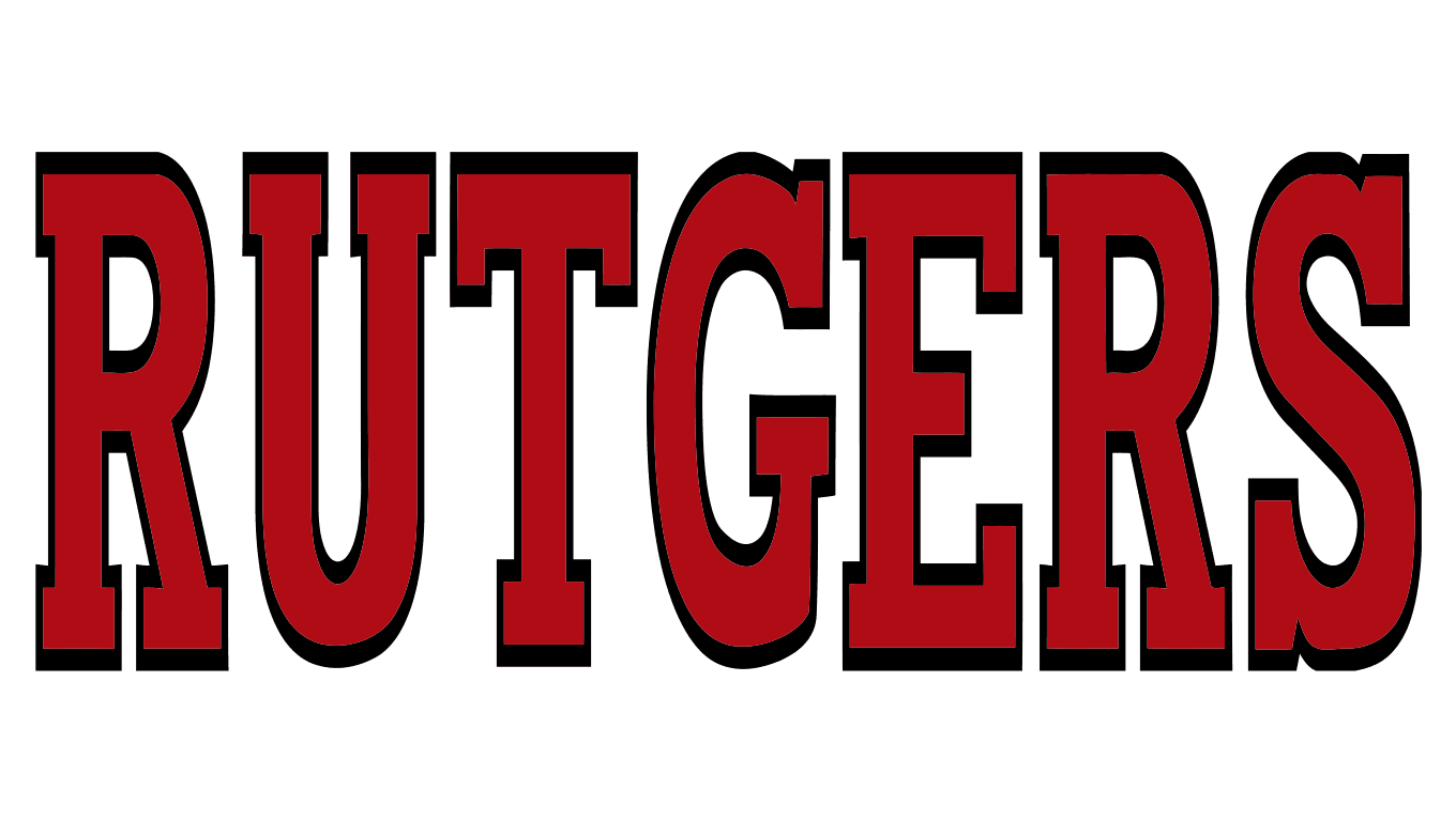 Rutgers logo iron on transfers
