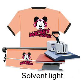 Solvent Light Inkjet Transfer Paper