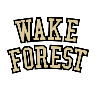 Wakeforest logo iron on transfers