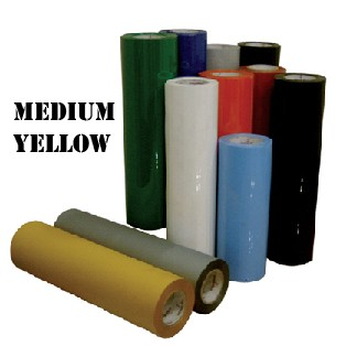 Heat Transfer Vinyl-Medium Yellow