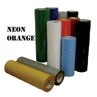 Heat Transfer Vinyl-Neon Orange