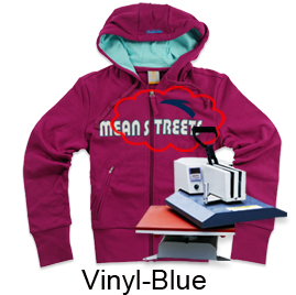 Heat Transfer Vinyl-Blue
