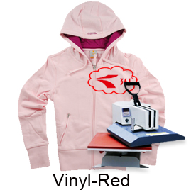 Heat Transfer Vinyl-Red